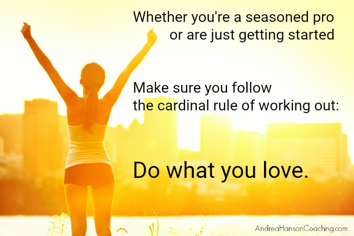 The Cardinal Rule For Working Out