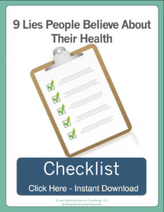9 Lies People Believe About Their Health Free Checklist