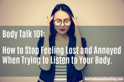 Body Talk 101